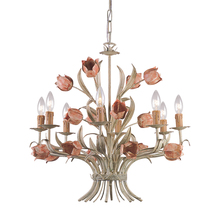 Crystorama 4808-SR - Crystorama Southport 8 Light Chandelier I