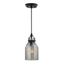 ELK Lighting 46009/1 - Danica 1 Light Pendant In Oil Rubbed Bronze And