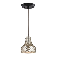 ELK Lighting 46023/1 - Danica 1 Light Pendant In Oil Rubbed Bronze And