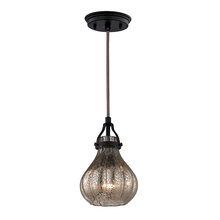 ELK Lighting 46024/1 - Danica 1 Light Pendant In Oil Rubbed Bronze And