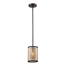 ELK Lighting 57026/1 - Diffusion 1 Light Mini Pendant In Oil Rubbed Bro