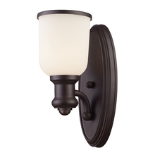 ELK Lighting 66670-1 - Brooksdale 1 Light Wall Sconce In Oiled Bronze A