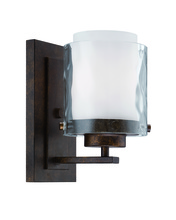 Craftmade 35401-PR - Kenswick 1 Light Wall Sconce in Peruvian Bronze