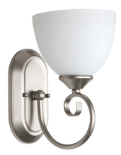 Jeremiah 25301-SN-WG - Raleigh 1 Light Wall Sconce in Satin Nickel