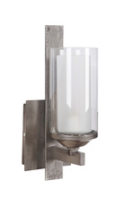 Jeremiah 39301-NIVNI - Mod 1 Light Wall Sconce in Natural Iron/Vintage Iron