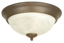 Jeremiah X213-AG - 2 Light Flushmount in Aged Bronze