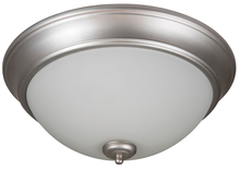 "Jeremiah XP13BN-2W - Pro Builder 2 Light 13"" Flushmount in Brushed Satin Nickel"