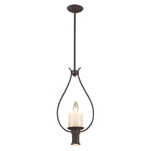 ELK Lighting 14004/1+1 - Cambridge 2 Light Pendant In Moonlit Rust