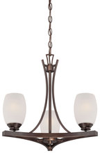 Minka-Lavery 4953-267b - 3 Light Mini Chandelier