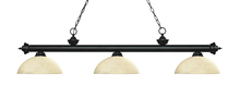 Z-Lite 200-3MB-DGM14 - 3 Light Billiard Light