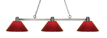 Z-Lite 314BN-PRD - 3 Light Island/Billiard Light