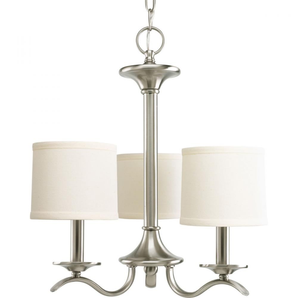 Brushed nickel chandelier affordable arlington nickel chandelier simple inspire collection light brushed nickel chandelier with brushed nickel chandelier arubaitofo Gallery