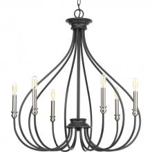 Progress P400030-143 - 6-Lt. Graphite Chandelier