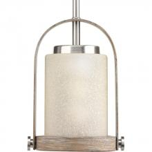 Progress P500020-009 - 1-Lt. Brushed Nickel Mini-Pendant