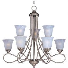 Maxim 11046MRSN - Nova 9-Light Chandelier