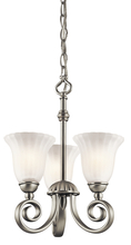 Kichler 3728NI - Chandelier/Semi Flush 3Lt