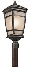 Kichler 49274RZ - Outdoor Post Mt 1Lt