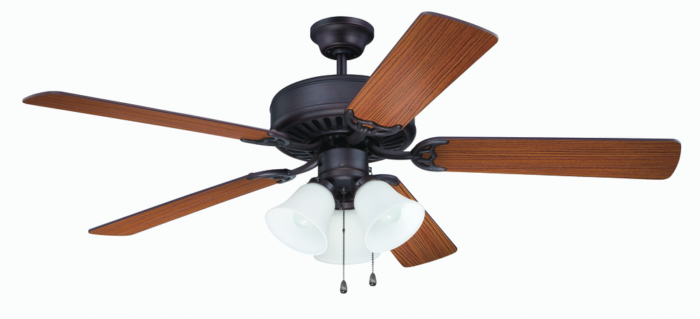"43rd Street Lighting, Inc. in Maple Grove, Minnesota, United States, Craftmade K11204, Pro Builder 205 52"" Ceiling Fan Kit with Light Kit in Aged Bronze Brushed, Pro Builder 205"