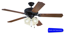 "Craftmade C204ABZ - Pro Builder 204 52"" Ceiling Fan with Light in Aged Bronze Brushed (Blades Sold Separately)"
