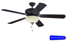 "Craftmade E208AG - Pro Builder 208 52"" Ceiling Fan with Light in Aged Bronze Textured (Blades Sold Separately)"