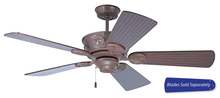 "Craftmade CP52AG - Chaparral 52"" Ceiling Fan in Aged Bronze Textured (Blades Sold Separately)"