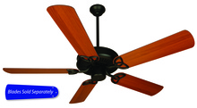 "Craftmade CXL52FB - CXL 52"" Ceiling Fan in Flat Black (Blades Sold Separately)"