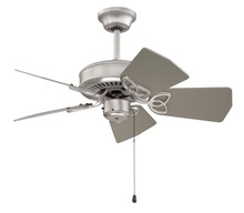 "Craftmade K10149 - Piccolo 30"" Ceiling Fan Kit in Brushed Satin Nickel"