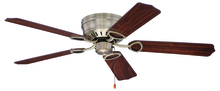 "Craftmade K10776 - Pro Universal Hugger 52"" Ceiling Fan Kit in Antique Brass"