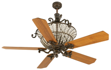 "Craftmade K10876 - Cortana 52"" Ceiling Fan Kit in Peruvian Bronze"