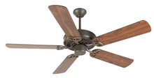 "Craftmade K10932 - CXL 52"" Ceiling Fan Kit in Aged Bronze Textured"