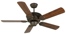 "Craftmade K11010 - Chaparral 52"" Ceiling Fan Kit in Aged Bronze Textured"