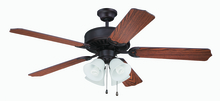 "Craftmade K11106 - Pro Builder 203 52"" Ceiling Fan Kit with Light Kit in Aged Bronze Brushed"