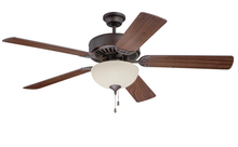 "Craftmade K11124 - Pro Builder 208 52"" Ceiling Fan Kit with Light Kit in Aged Bronze Brushed"
