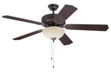 "Craftmade K11125 - Pro Builder 208 52"" Ceiling Fan Kit with Light Kit in Aged Bronze Textured"
