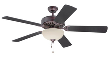 "Craftmade K11126 - Pro Builder 208 52"" Ceiling Fan Kit with Light Kit in Oiled Bronze"