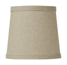 Craftmade SH51-5 - Design & Combine Clip Shade in Natural Linen
