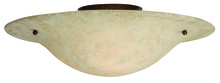 Craftmade X1716-AG - Toscana 2 Light Flushmount in Aged Bronze