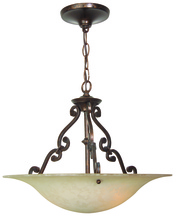 Craftmade X1916-AG - Toscana 3 Light Pendant in Aged Bronze