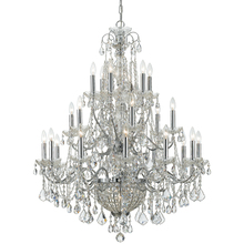 Crystorama 3229-CH-CL-MWP - Crystorama Imperial 26 Light Crystal Chrome Chandelier