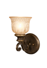 Crystorama 7401-BU - Crystorama Norwalk 1 Light Bronze Umber Sconce