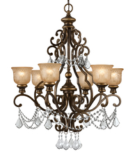 Crystorama 7516-BU-CL-MWP - Crystorama Norwalk 6 Light Clear Crystal Chandelier