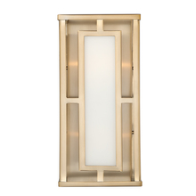 Crystorama HIL-992-VG - Libby Langdon for Crystorama Hillcrest 2 Light Vibrant Gold Wall Mount