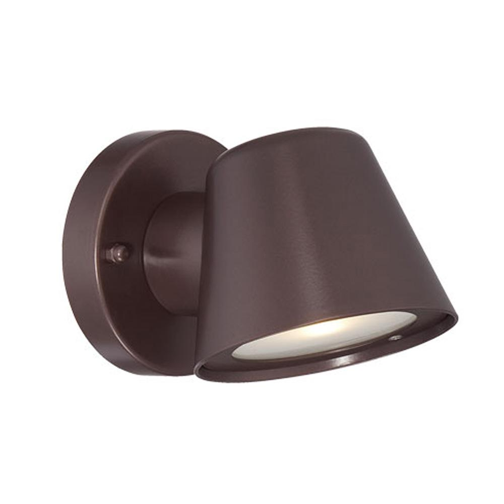 Led Wall Sconces Collection Wall Mount 1 Light Outdoor Architectural