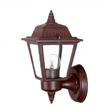 Acclaim Lighting 5005BW - Builder's Choice Collection Wall-Mount 1-Light Outdoor Burled Walnut Light Fixture