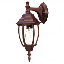 Acclaim Lighting 5010BW - Wexford Collection Wall-Mount 1-Light Outdoor Burled Walnut Light Fixture