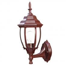 Acclaim Lighting 5011BW - Wexford Collection Wall-Mount 1-Light Outdoor Burled Walnut Light Fixture