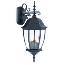Acclaim Lighting 5012BK - Wexford Collection Wall-Mount 3-Light Outdoor Matte Black Light Fixture