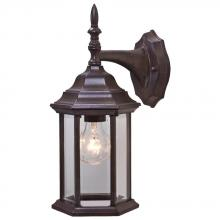 Acclaim Lighting 5182BW - Craftsman 2 Collection Wall-Mount 1-Light Outdoor Burled Walnut Light Fixture