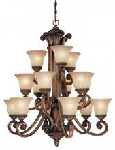Dolan Designs 2403-54 - 3Tier Chandelier