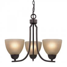 Elk Cornerstone 1403CH/10 - Kingston 3 Light Chandelier  In Oil Rubbed Bronz
